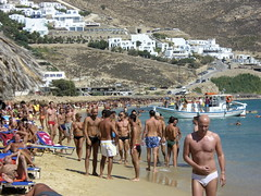 Elia Beach * Mykonos, Aug 07 photo by Paul Reitz Photography