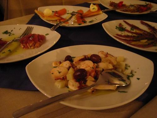 Portion of the Capriccio di Mare - Cold