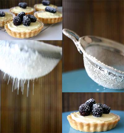 mascarpone tart montage