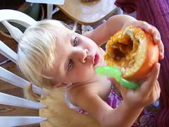 Pumpkin worship a la Solenne Lily.
