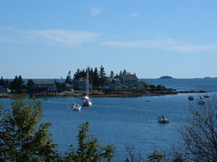 Pemaquid Harbor Scene