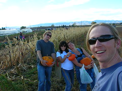 homies in the punkin patch