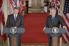 Harper y Bush (Foto: Kimberlee Hewitt / Casa Blanca)