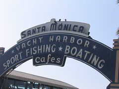 welcome to Santa Monica pier