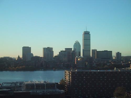 Boston Skyline, Sunrise