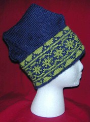Fair Isle Hat - Finished