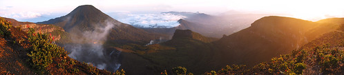 Gunung Gede Volcano - Panorama
