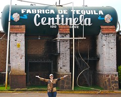 Christine Visits Centinela Distillery -- Makers of incredibly tasty tequila.