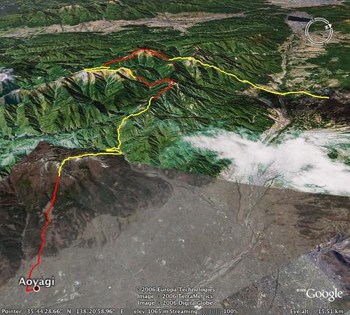 Minami Alps hike