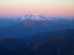 Glacier Peak at Sunset from 3 Fingers