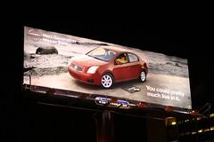 Nissan Sentra advertising