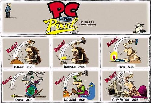 Evolución desde la Edad de piedra