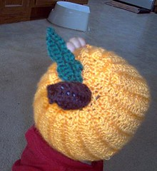 Top View of Pumpkin Hat