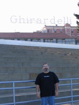 Me in San Francisco Bay by Ghirardelli Square