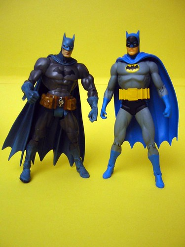 DC Superhero and DC Direct Batman