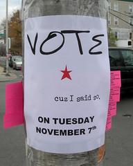 'Vote' poster