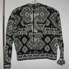 B-W jacket - front