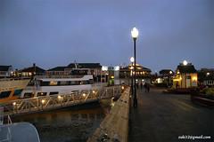 Street lights Pier 39