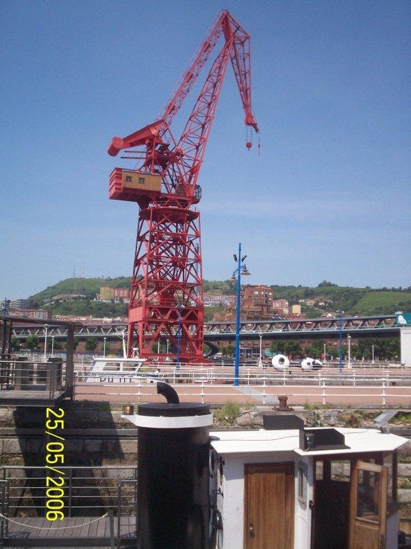La última grúa de Bilbao