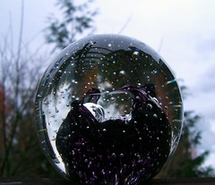 rediscovered glass, spherical paperweight (flick-r photoshare)