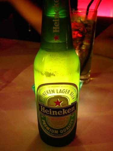 I love Heineken