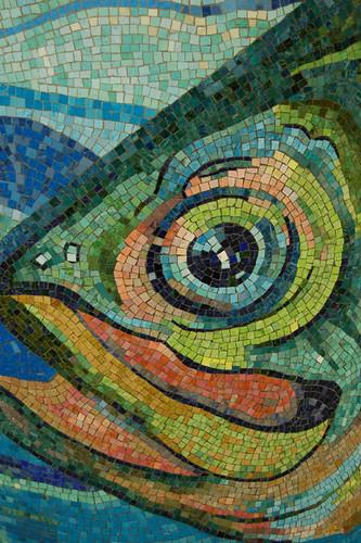 Nyc Subway Mosaic Essex St Fish Mosaic Art Source