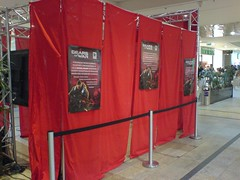Gears Of War demo station - not yet open
