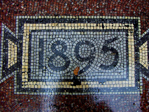 1895 Mosaic Numbers Mosaic Art Source