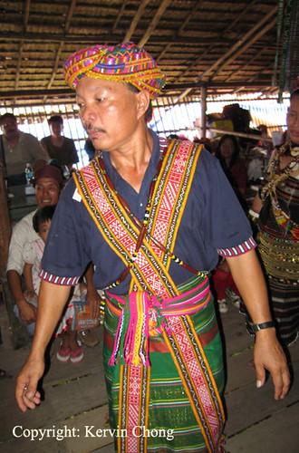 Rungus-Male-Dancer
