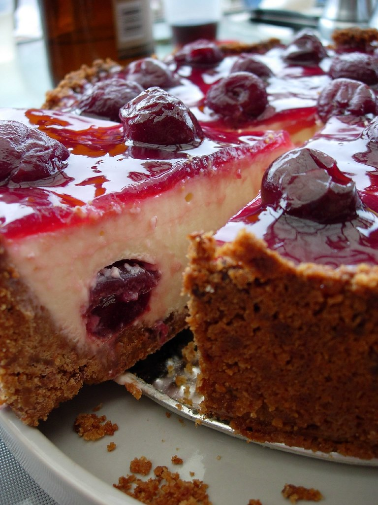 Black Forrest Cheesecake