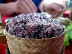 Purple sticky rice