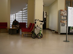 Mobiky na Biblioteca Municipal de Oeiras