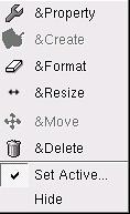 Knoppix Context menu
