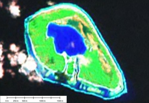 Tehuata Atoll - Landsat Image S-07-15_2000 (1-15,625)