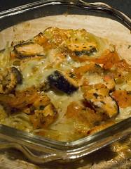 Salmon Cheese Pasta