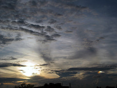 02 Sunset and Rainbow Cloud