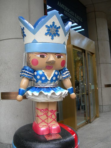 Nutcracker in a skirt