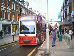 Tram in Croydon