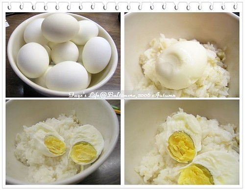 Hand Made Salted Egg (by fayehuang)