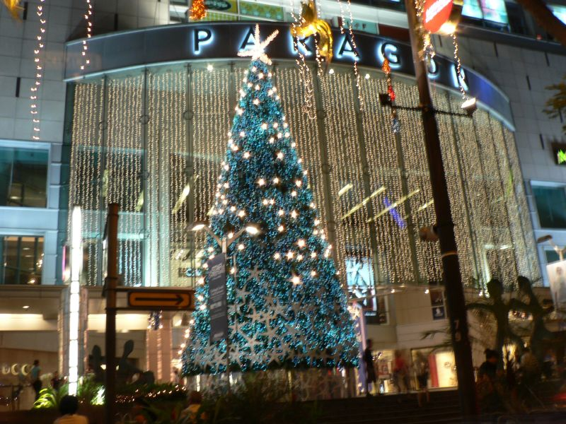 Christmas Tree @ Paragon