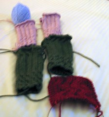 Christmas knitting, 2006