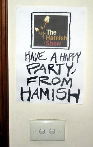 Hamish poster
