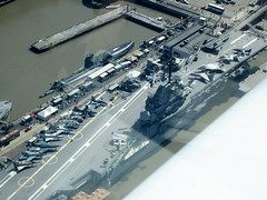 USS Intrepid from 900 feet