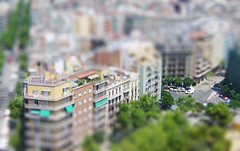 Barcelona miniatures photo by .Storm