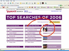 Wow! Babasteve in Yahoo's Top 2006