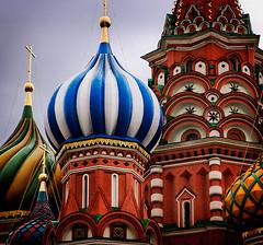 St. Basil's stripes photo by Andrei Z