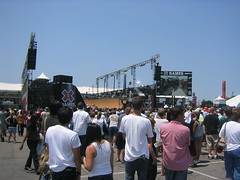 X Games 13 Half Pipe and Crowd