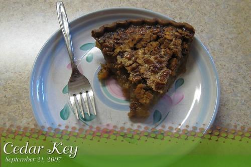 Pecan Pie Cedar Key