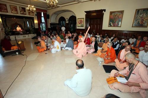 CC Class - Brahmacari Convention 2010 - Bhaktivedanta Manor - 19/06/2010 - IMG_2523