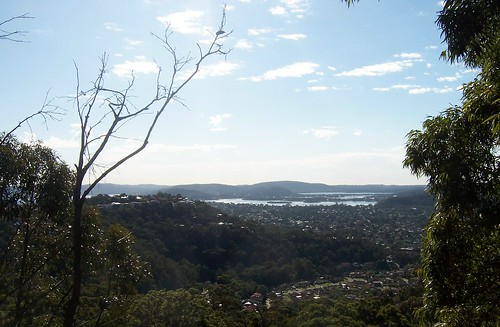 Woy Woy & Brisbane Water from The Rampart